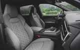 Audi SQ7 2020 first drive review - cabin