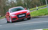 Audi TT Mk3 - hero front