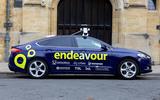 Autonomous Ford Mondeo - side