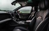 Bentley Bentayga 2020 UK first drive review - front seats