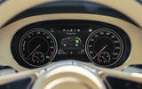 Bentley Bentayga hybrid 2019 first drive review - instruments