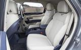 Bentley Bentayga Hybrid 2020 UK first drive review - rear seats