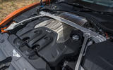 Bentley Continental GT Convertible V8 2020 UK first drive review - engine