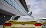 9 Bentley Continental GT Speed 2021 UK FD rear lights
