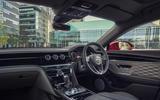9 Bentley Fyling Spur V8 2021 UK review cabin