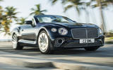 Bentley Continental GT Convertible 2019 UK first drive review - on the road