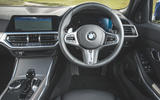 BMW 3 Series Touring 320d 2019 UK first drive review - dashboard