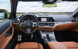 BMW 4 Series 2020 first drive review - dashboard