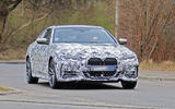 BMW 4 Series Coupe - spy shot