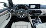 BMW 5 Series 2020 UK (LHD) first drive review - dashboard