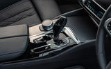 BMW 5 Series M550i 2020 UK first drive - centre console
