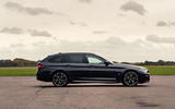 9 BMW 5 Series Touring 530d 2021 UK FD static side