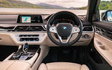 BMW 7 Series 730Ld 2019 UK first drive review - dashboard