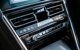 BMW 840d 2019 first drive review - climate controls