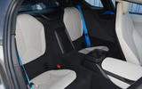 BMW i8 Coupe 2018 UK first drive review rear seats