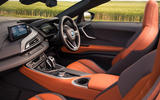 BMW i8 Roadster 2018 UK first drive review - cabin