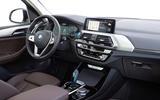 BMW iX3 2020 first drive review - dashboard