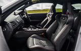 BMW M2 CS 2020 UK first drive review - cabin