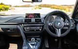 BMW M3 CS 2018 review dashboard