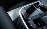 9 BMW M4 2021 UK first drive review centre console