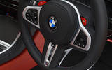 BMW M8 Gran Coupe 2020 UK first drive review - steering wheel