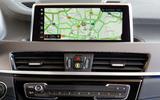 BMW X2 M35i 2019 first drive review - navigation