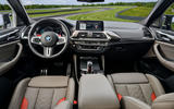 BMW X4 M Competition 2019 first drive review - cabin