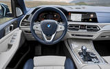 BMW X7 2019 first drive review - dashboard