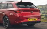9 Cupra Leon Estate 2021 UK FD hatchback