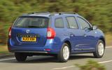 Dacia Logan - rear