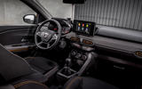 9 Dacia Sandero Stepway 2021 UK first drive review cabin