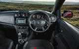 Dacia Sandero Stepway Techroad 2019 first drive review - steering wheel