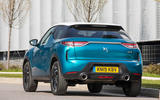 DS 3 Crossback 2019 UK first drive review - static rear