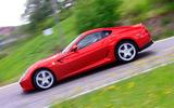 Ferrari 599 - side