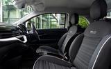 9 Fiat 500e Action 2021 UK FD cabin