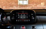 Fiat 500x Sport 2019 first drive review - infotainment