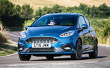 Ford Fiesta ST 2018 UK first drive review on the road front