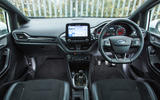 Ford Fiesta ST Mountune m235 2020 first drive review - cabin