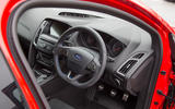 Ford Focus RS Race Red Edition driver's seat