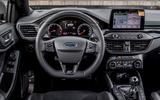 Ford Focus ST 2019 first drive review - dashboard