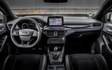 Ford Focus ST estate EcoBlue 2019 first drive review - dashboard