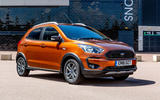 Ford Ka+ Active 2018 first drive review static front