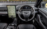 9 Ford Mustang Mach E 2021 UK first drive review dashboard