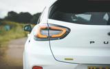 9 Ford Puma ST Mountune m260 2021 UK FD rear lights