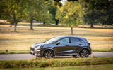 Ford Puma Vignale 2020 UK first drive review - on the road left