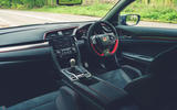 9 Honda Civic Type R Sportsline 2021 UK FD cabin