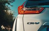 Honda CR-V hybrid 2019 first drive review - rear lights