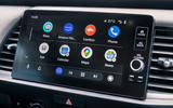 Honda Jazz Crosstar 2020 UK first drive review - infotainment Android