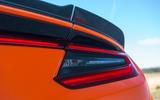 Honda NSX 2019 UK first drive review - rear lights