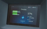 Public charging LCD display
